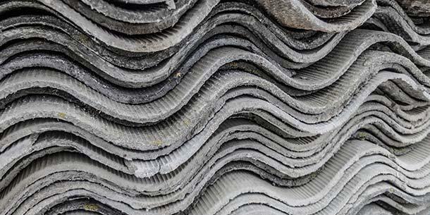 Old asbestos requiring disposal